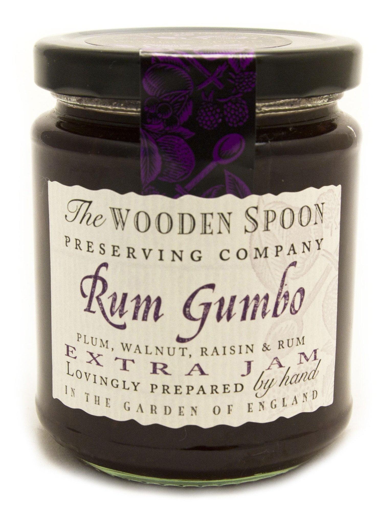Rum Gumbo - Plum, Walnut, Raisin & Rum