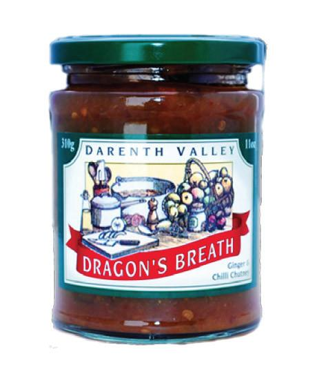 Dragon's Breath- Ginger and Chilli Chutney