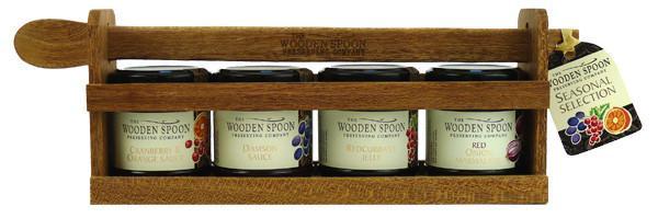 Seasonal Selection: Cranberry & Orange Sauce, Red Onion Marmalade, Damson Sauce, Redcurrant Jelly  4 x 113g