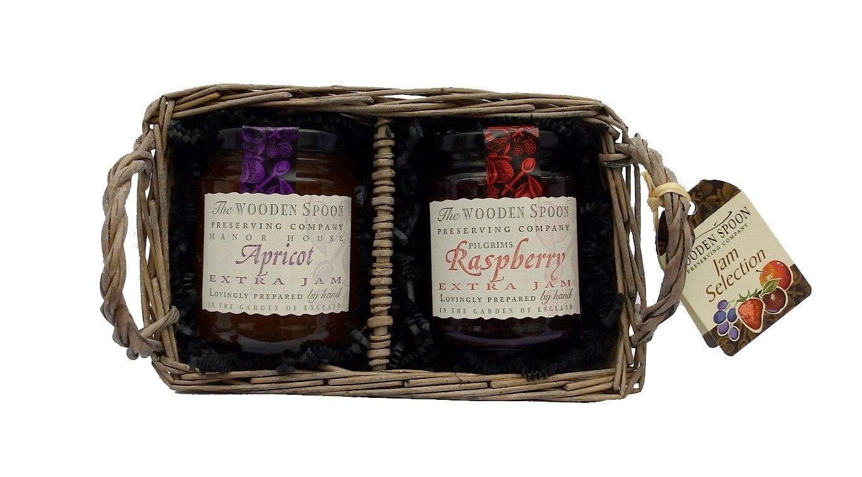 Jam Selection - Raspberry Extra Jam, Apricot Extra Jam 2 x 340g