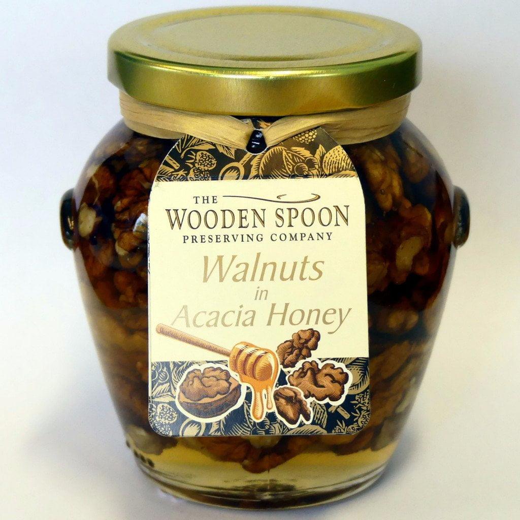 Walnuts & Acacia Honey in a Gift Jar