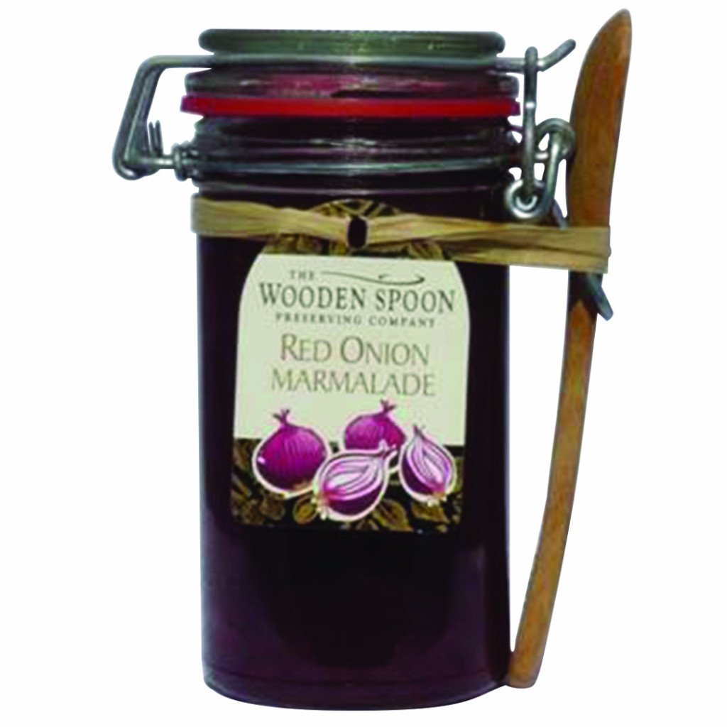 Red Onion Marmalade Kilner with Wooden Spoon (284g)
