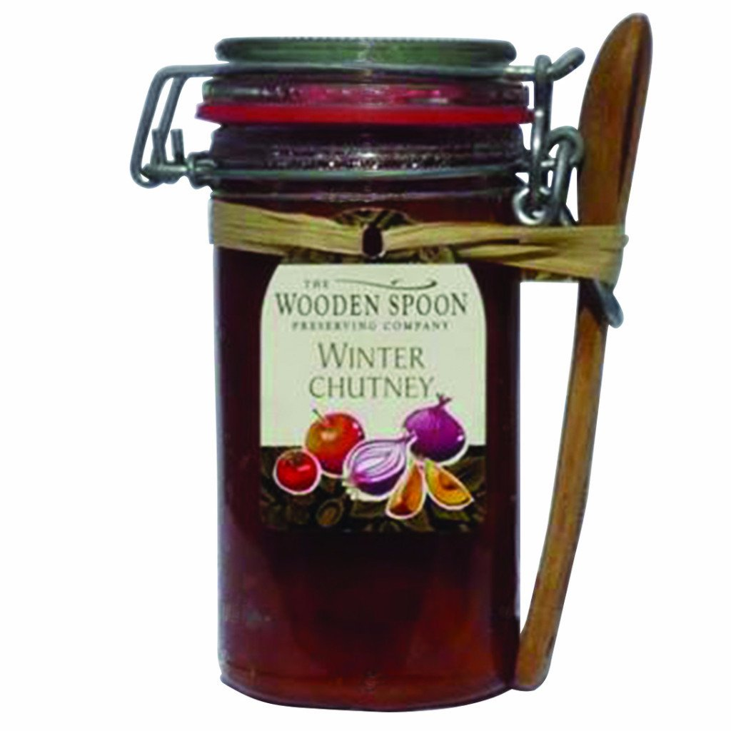Winter Chutney Kilner with Spoon